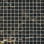 Caesar anima select, nero atlante Composizione F 30 x 30 cm decor lucidato