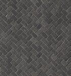fap ceramiche maku, dark gres mosaico spina 30 x 30 matt
