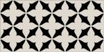 Vives, Mugat-Rivoli Caumartin Negro 10x20 cm fali csempe
