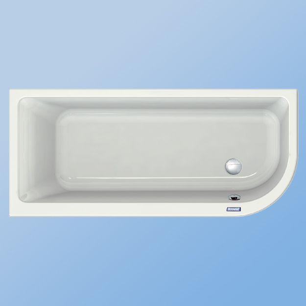 duscholux prime line 264 akrilk d 170 x 75 cm lekerek tett. Black Bedroom Furniture Sets. Home Design Ideas