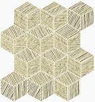 fap ceramice lumina glam, almond cube mosaico 22,5 x 26 cm