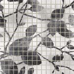fap ceramiche maku, ramage white mosaico 30,5 x 30,5 cm