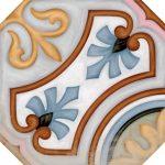 Vives, Vodevil Octógono Diglas Multicolor 20x20 mintás lap