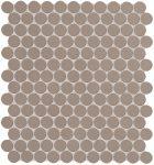 fap ceramiche color now, fango round ghiaccio 29,5 x 32,5 cm