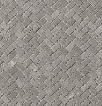fap ceramiche maku, grey gres mosaico spina 30 x 30 matt