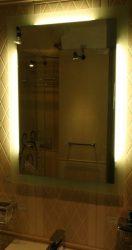 világító tükör 3 látszó fénycsíkkal kétoldalt és felül