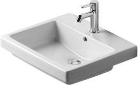 Duravit Vero beépíthető mosdó, 55 cm 031555 00