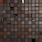 mosaico rame-nichel 30x30 cm lappato