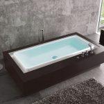 Duscholux Caprivi Free 580700 akrilkád 202 x 115 cm falhoz simuló