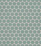 fap ceramiche color line, salvia round mosaico 29,5 x 32,5 cm
