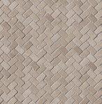 fap ceramiche maku, nut gres mosaico spina 30 x 30 matt