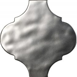 tonalite arabesque satin, silver matt 14,5 x 14,5 cm