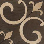 fap ceramiche nuances, classic faggio noce tappeto 45 x 45 cm RT