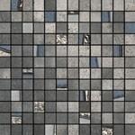mosaico inox 30x30 cm lappato
