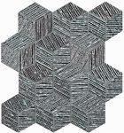 fap ceramice lumina glam, silver cube mosaico 22,5 x 26 cm