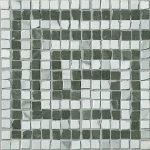f. ceramiche roma, greca statuario grafite mosaico 20 x 20 cm lux