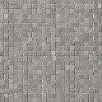 fap ceramiche maku, grey gres micromosaico 30 x 30 cm matt