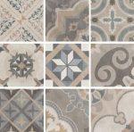 sant'agostino patchwork, classic mix 20 x 20 cm