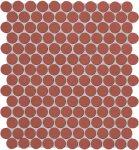 fap ceramiche color now, marsala round ghiaccio 29,5 x 32,5 cm