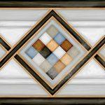 Vives, Vodevil Pombo-2 Multicolor 20x20 mintás csempe