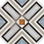 Vives, Vodevil Octógono Ritter Multicolor 20x20 mintás lap