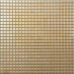 metallica, oro 1,2 x 1,2 cm