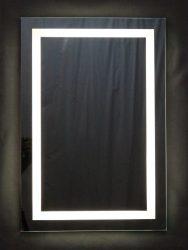 világító tükör 2,5 cm széles LED világítással, kapcsolóval