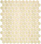 fap ceramiche roma, travertino brick mosaico 29,5 x 32,5 cm matt