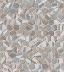 fap ceramiche color line, deco round mosaico 29,5 x 32,5 cm