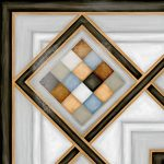Vives, Vodevil Pombo-3 Multicolor 20 x 20 cm mintás csempe