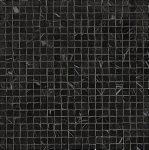fap ceramiche roma diamond, nero reale micromosaico 30 x 30 cm fényes