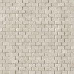 fap ceramiche maku, grey brick mosaico 30,5 x 30,5 cm