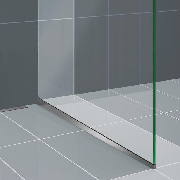 duscholux air walk in zuhanykabin 500 1200 mm sz less gig csemp k padl lapok szaniterek. Black Bedroom Furniture Sets. Home Design Ideas