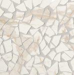 fap ceramiche roma diamond, calacatta schegge mosaico 30 x 30 cm fényes