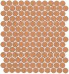 fap ceramiche color now, curcuma round ghiaccio 29,5 x 32,5 cm