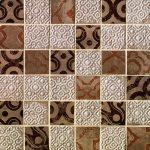 fap ceramiche creta, maiolica beige mosaico 30,5 x 30,5 cm