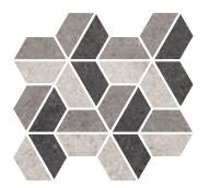 sant'agostino highstone, hexagon dark 24 x 28 cm natur