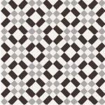 sant'agostino patchwork, black&white 02 20 x 20 cm