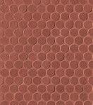 fap ceramiche color line, copper marsala round mosaico 30,5 x 30,5 cm