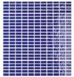 tonalite soleil, blu delft 27 x 30 cm mosaic