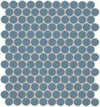 fap ceramiche color now, avio round mosaico 29,5 x 32,5 cm