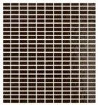 tonalite soleil, moka 27 x 30 cm mosaic