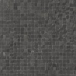 fap ceramiche maku, dark gres micromosaico 30 x 30 cm matt