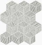 fap ceramice lumina glam, pearl cube mosaico 22,5 x 26 cm