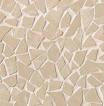 fap ceramiche roma diamond, beige duna schegge mosaico 30 x 30 cm fényes