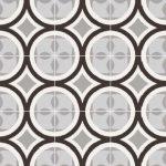 sant'agostino patchwork, black&white 01 20 x 20 cm