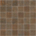 sant'agostino oxidart, copper mosaico 30 x 30 cm natur