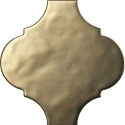 tonalite arabesque satin, gold matt 14,5 x 14,5 cm