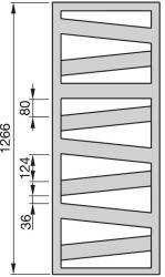 Zehnder Kazeane radiátor, elektromos