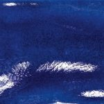 tonalite kraklé, blu 30x 30 cm padlólap